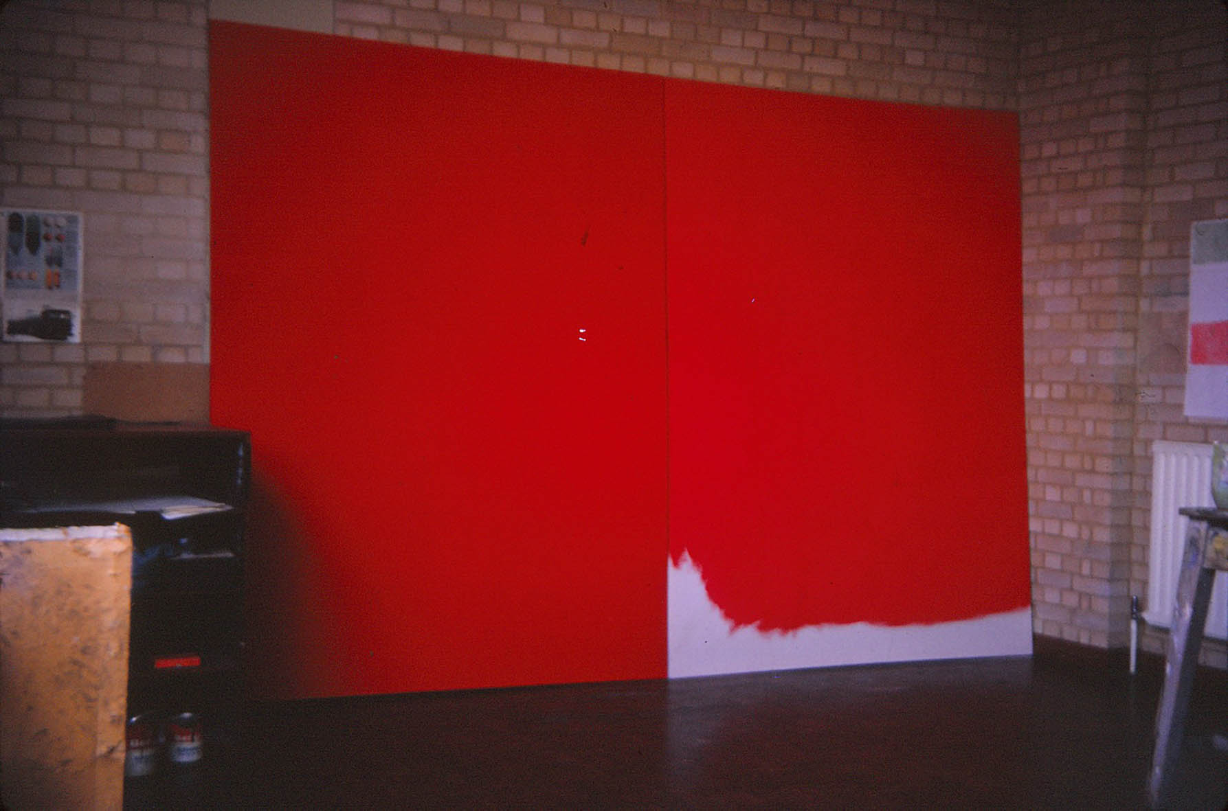 Red Painting 1  1971